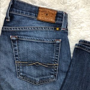 Lucky Brand Sienna Cigarette Jeans